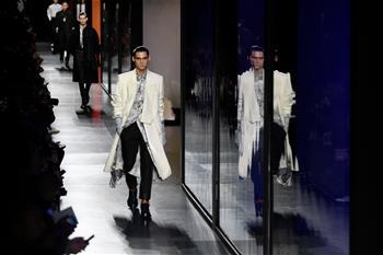 巴黎男裝周:迪奧發布秋冬新品