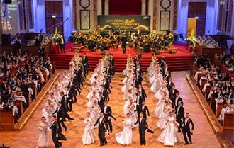 維也納中國新年舞會盛大舉行