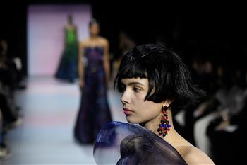 巴黎高級定制周:Giorgio Armani Prive發布春夏新品