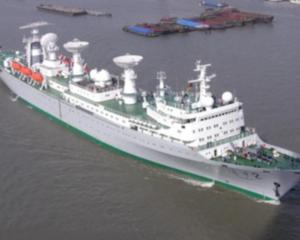 遠望號航天測量船隊返航