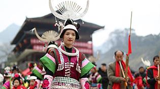 貴州:文化扶貧助搬遷群眾過上安穩日子