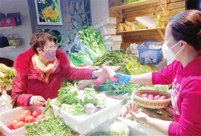 津城蔬菜副食品供應充足