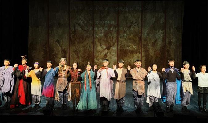 中國國家話劇院話劇《行者無疆》在巴黎上演