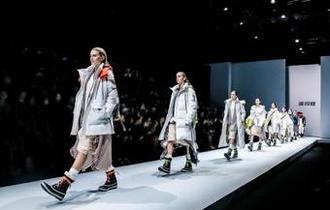中國羽絨服品牌首次亮相倫敦時裝周