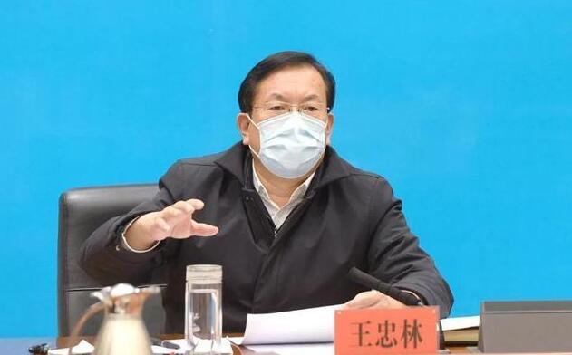 王忠林:再有一例居家確診者,拿區委書記區長是問