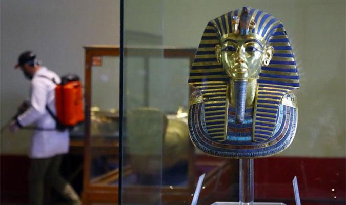 埃及博物館閉館消毒