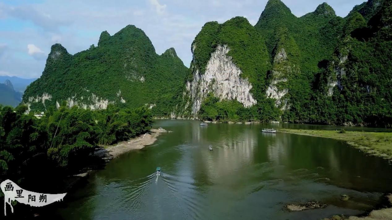 山水如畫春暖花開 桂林陽朔促旅遊業復蘇