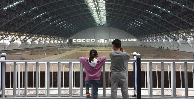 秦始皇帝陵博物院恢復開放