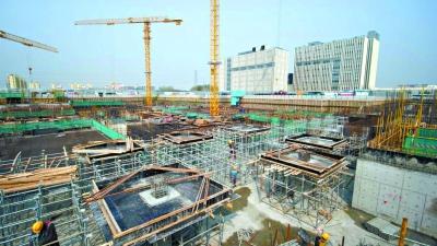北京市順義區最大棚改項目全面復工