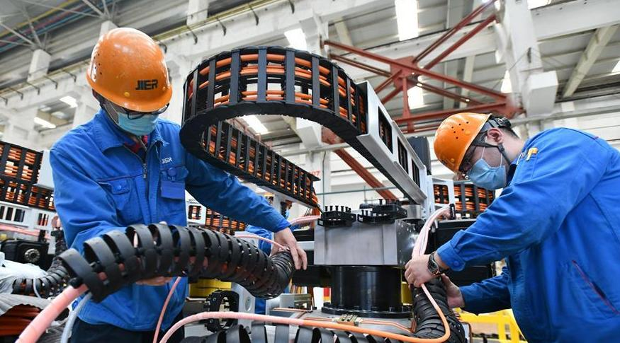 濟南:裝備制造企業開足馬力促生産