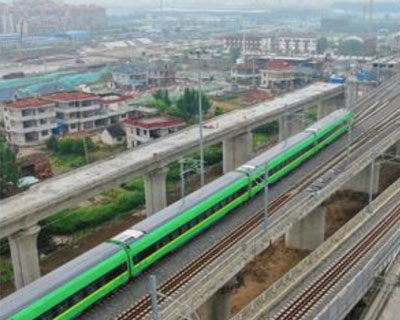 通滬鐵路進入運行試驗階段