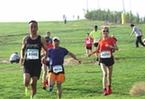 """第三屆""""黃河古道""""全民健身運動會徒步越野賽舉行"""