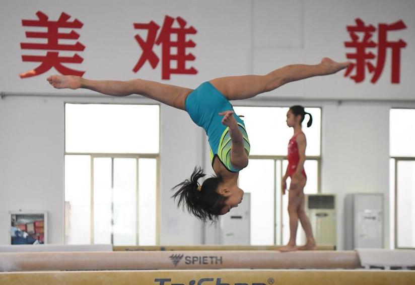體操——湖南體操隊訓練備賽