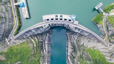 構皮灘水電站通航工程進入全面調試階段