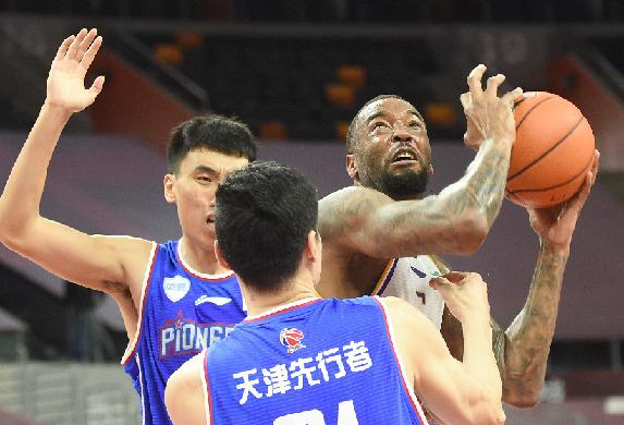 籃球——CBA復賽第一階段:北京控股勝天津先行者