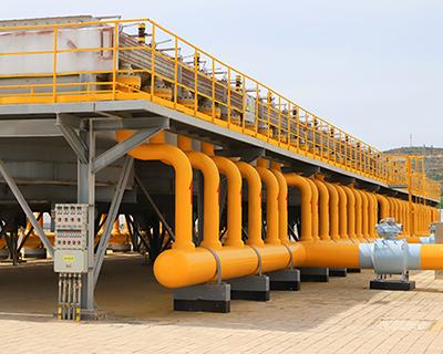 西氣東輸銀川作業區累計為寧夏輸氣280億標方