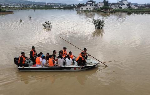 安徽:兩河流發生超歷史最高水位大洪水 全省22條(座)河湖超警