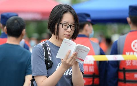 2020年高考安徽歙縣考區延考科目今日開考