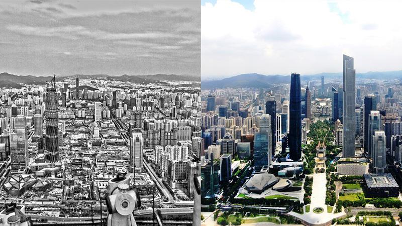 """走向我們的小康生活丨城市變遷記憶綿長 照片裏釀""""時光"""""""