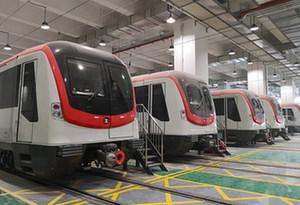 深圳地鐵4號線觀瀾停車場竣工
