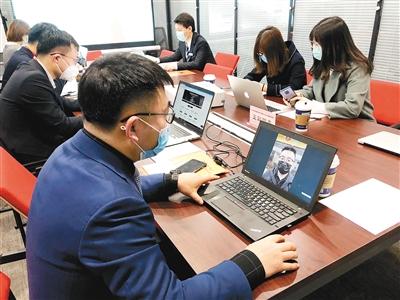 """西安市人社局讓穩就業實現""""雲端相約"""""""
