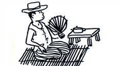 【漫畫】在古人的筆下,夏天原來這麼美