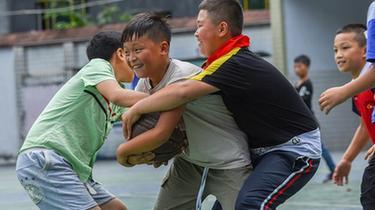 貴州松桃:山區留守兒童的快樂暑假
