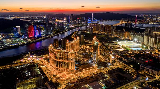 澳門:城在海上 海在城中