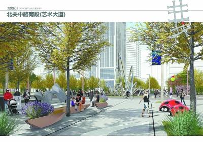運河商務區一體化設計釋放空間活力