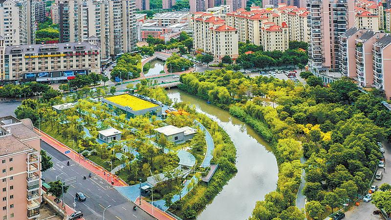 福州市已在金港河、梅峰河邊建成地下處理站