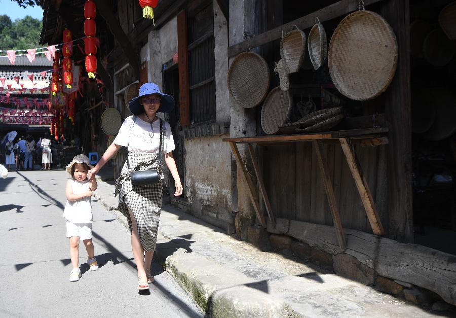 重慶巴南:豐盛古鎮引客來