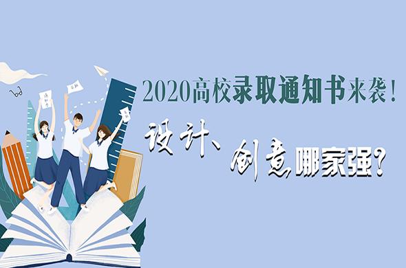 2020高校錄取通知書來襲!設計、創意哪家強?