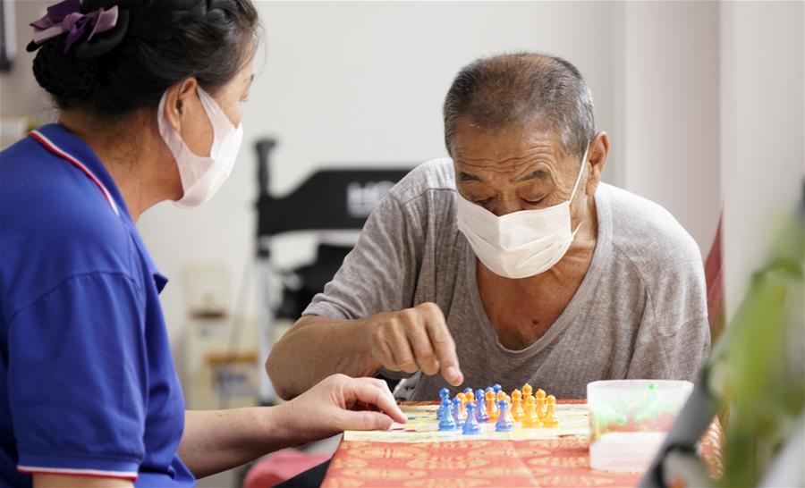 北京市社區養老驛站逐步恢復養老服務