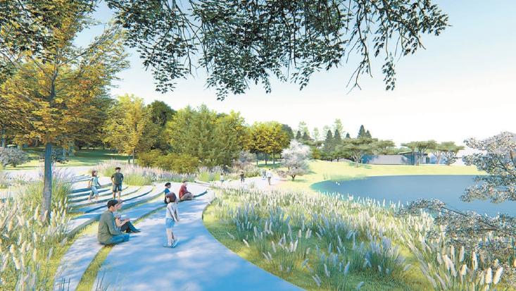 溫榆河公園將打造五個高品質園區