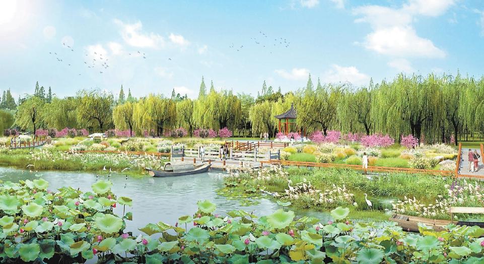 蕭太後河修復提升 副中心添親水綠廊