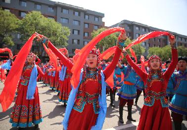 第十七屆中國•內蒙古草原文化節開幕
