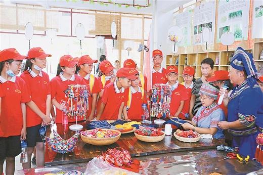 廣西貧困地區685名少年兒童開啟快樂成長之旅
