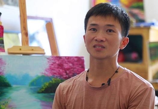 貧困農民肖明:無聲的世界 純粹的畫者