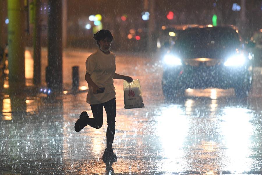北京迎來降雨