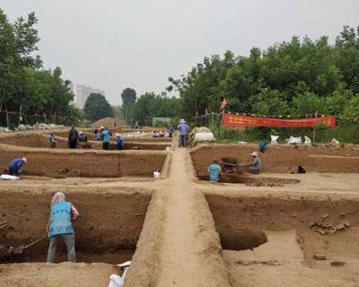 濟南梁王遺址發現戰國城址 正推進保護性回填