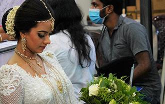 疫情下的斯裏蘭卡婚禮展