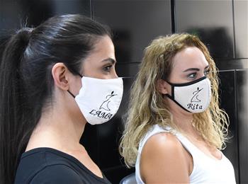 敘利亞:定制口罩 為愛美的你