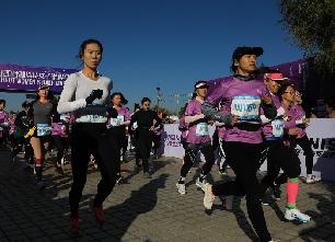2020呼和浩特女子半程馬拉松開跑