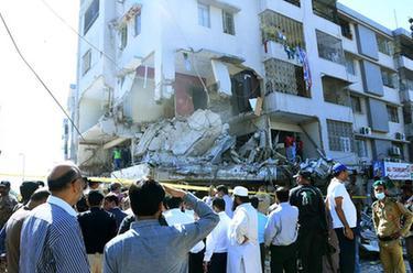 巴基斯坦南部一建築物發生爆炸致3死15傷