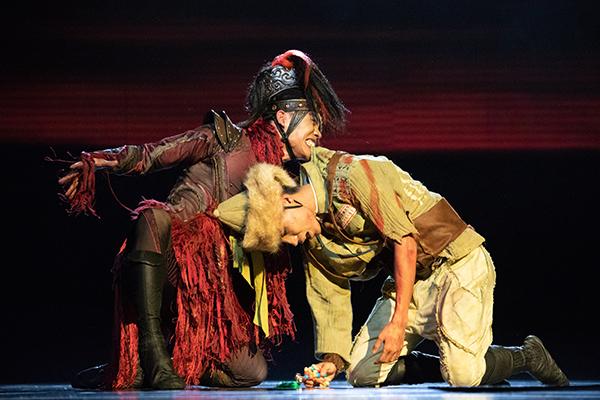 舞劇《騎兵》獲獎後公演受到好評