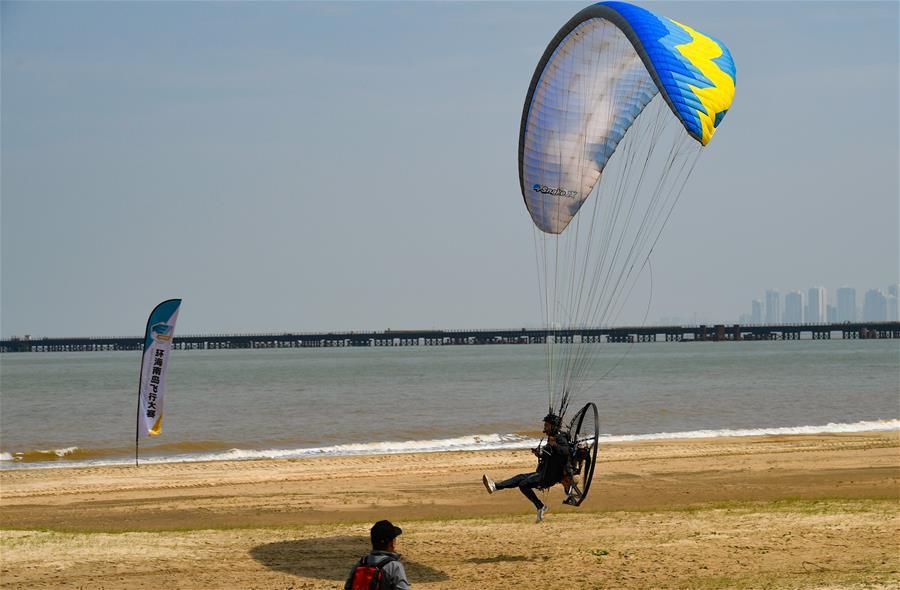 環海南島飛行大賽海口動力傘魅力海岸錦標賽落幕