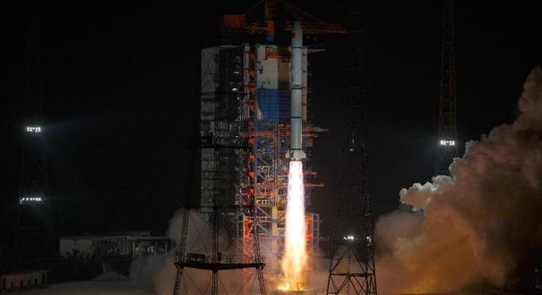 我國成功發射遙感三十號07組衛星