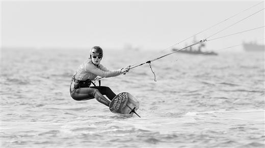 全國風箏板錦標賽北海落幕