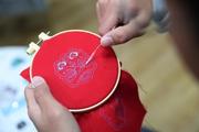 青島:傳統技藝進校園