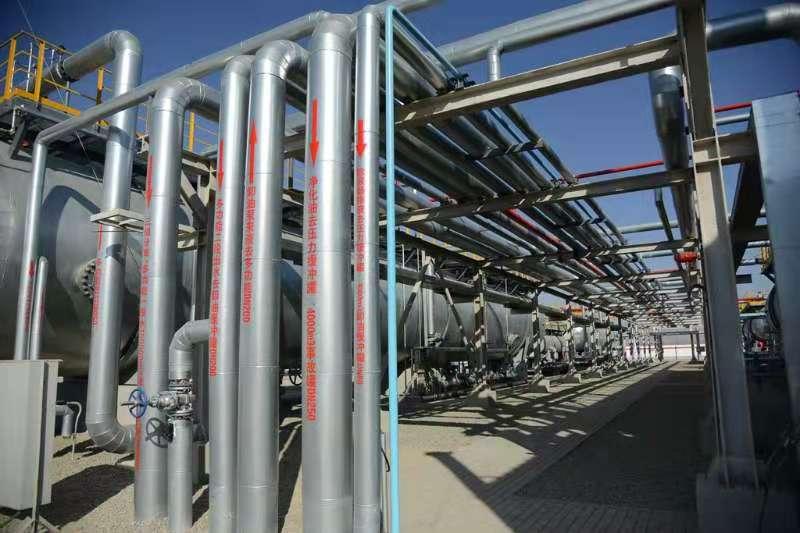 國家級陸相頁岩油示范區-頁岩油聯合站順利投産
